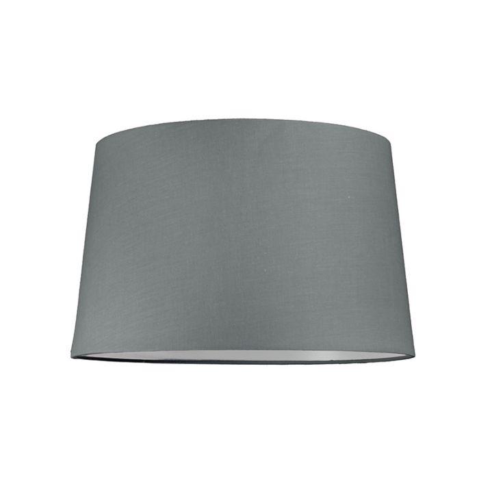 Pantalla-para-lámpara-colgante-40cm-cónica-SU-E27-gris