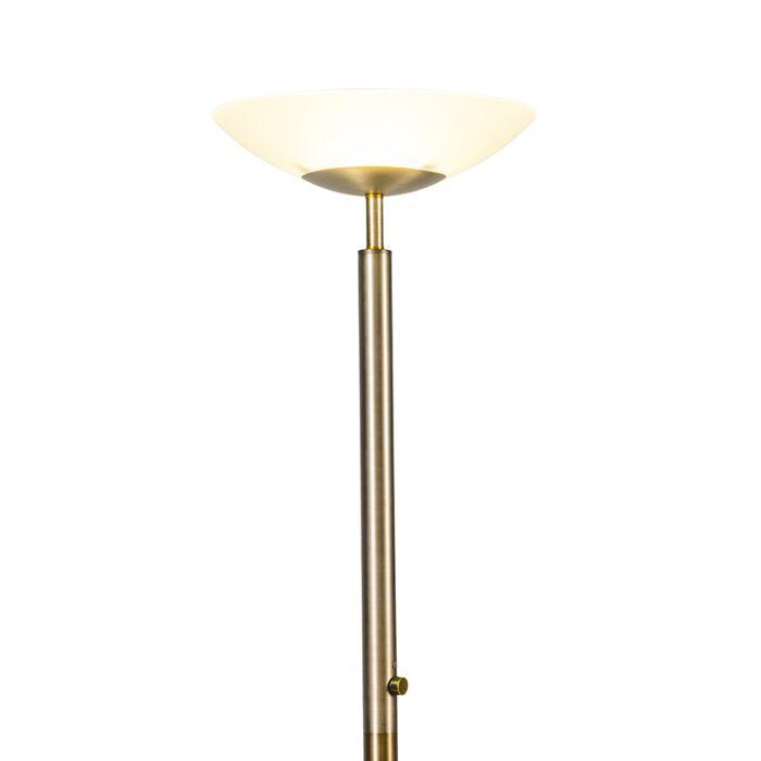 Lámpara-de-pie-PISA-bronce