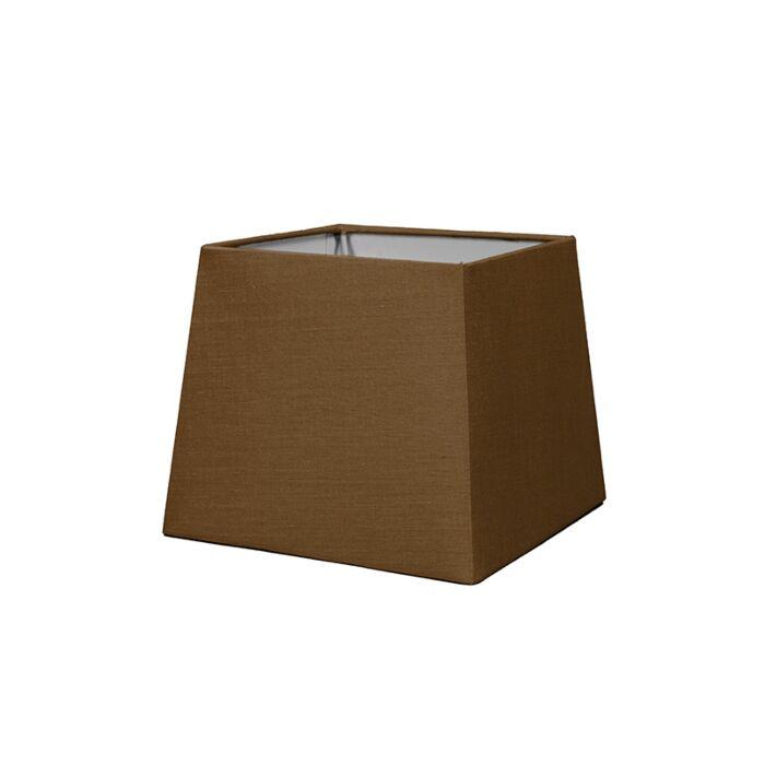 Pantalla-para-lámpara-mesa/aplique-18cm-piramidal-SD-E27-marrón