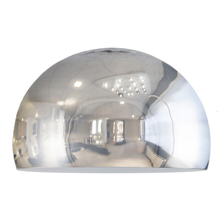 Pantalla-GLOBE-33cm-cromo