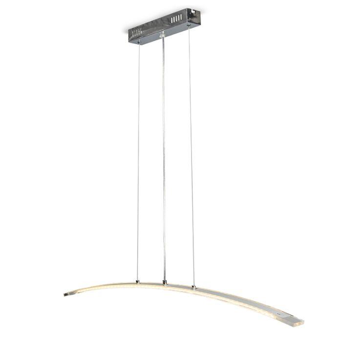 Lámpara-colgante-ARCADE-cromo