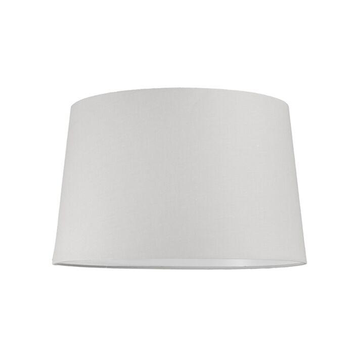 Pantalla-para-lámpara-colgante-40cm-cónica-SU-E27-blanca