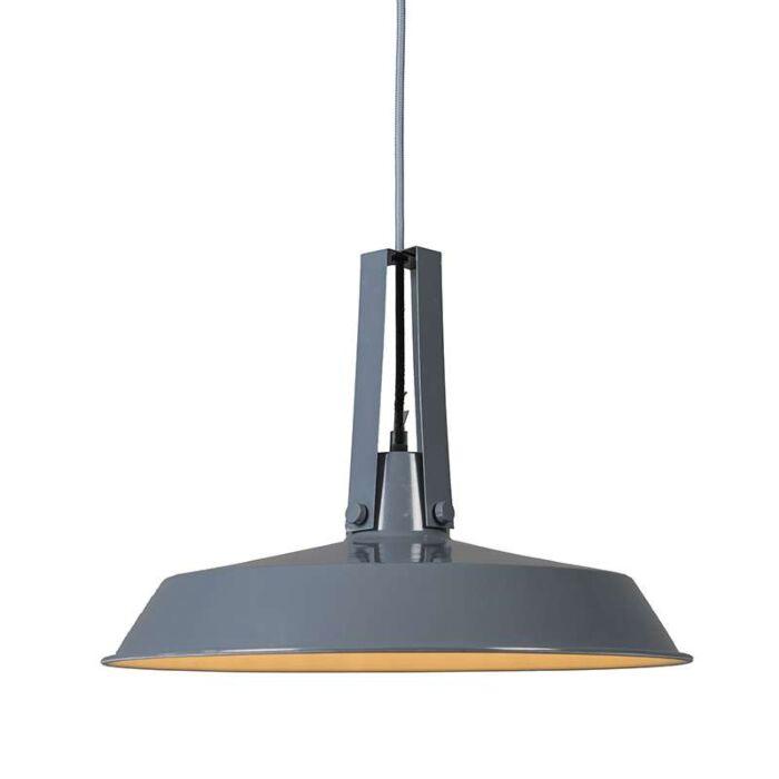 Lámpara-colgante-LIVING-40cm-gris