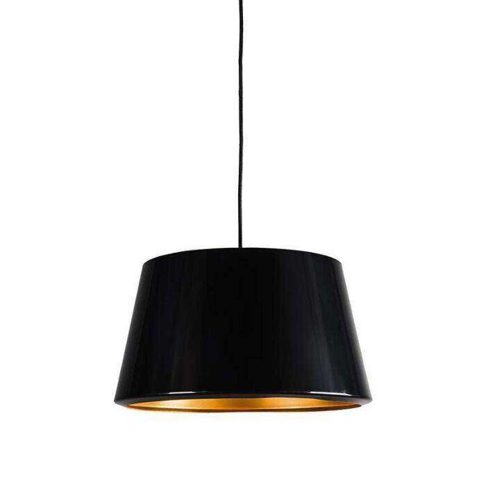 Lámpara-colgante-VEGAS-negro/-oro