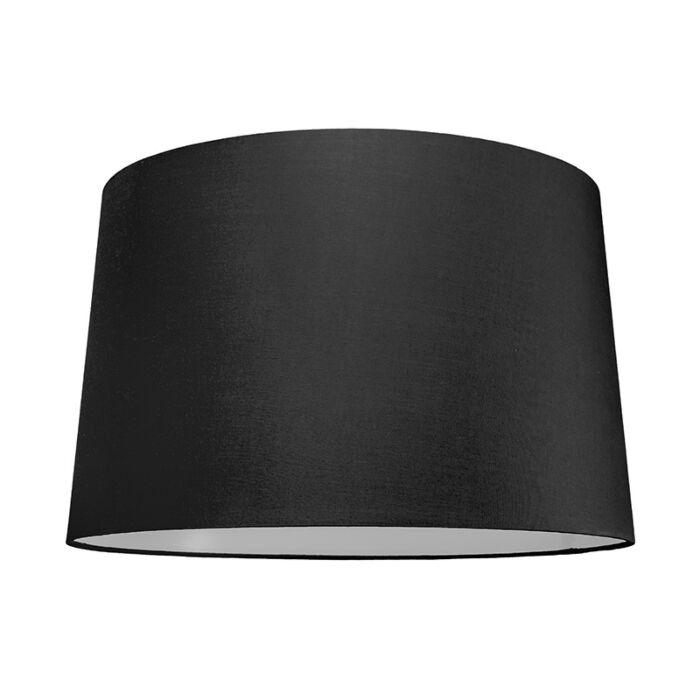 Pantalla-para-lámpara-colgante-50cm-cónica-SU-E27-negra