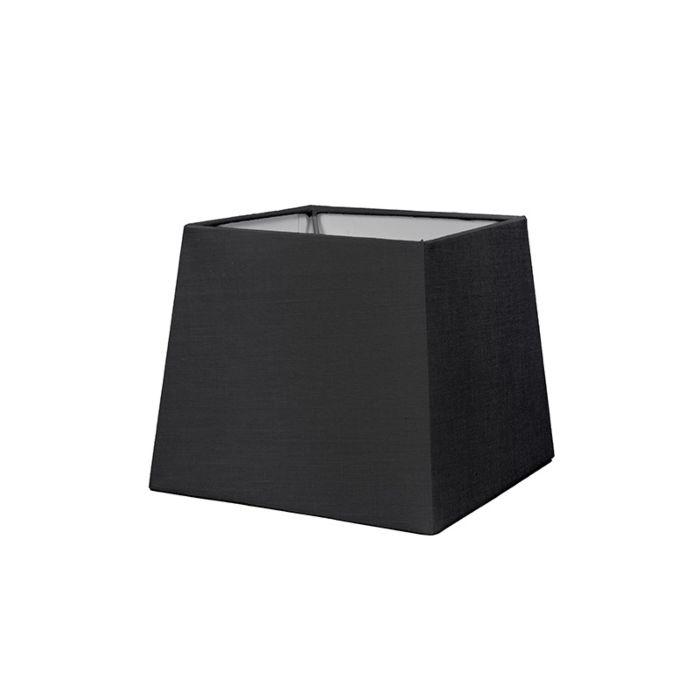Pantalla-para-lámpara-mesa/aplique-18cm-piramidal-SD-E27-negro