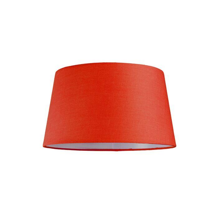 Pantalla-para-lámpara-colgante-30cm-cónica-SU-E27-roja