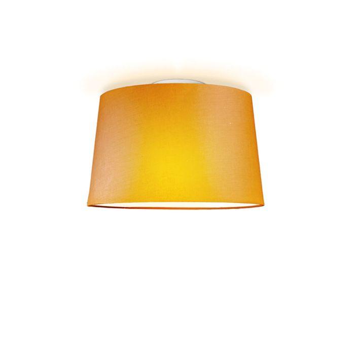 Plafón-TON-cónico-40-naranja