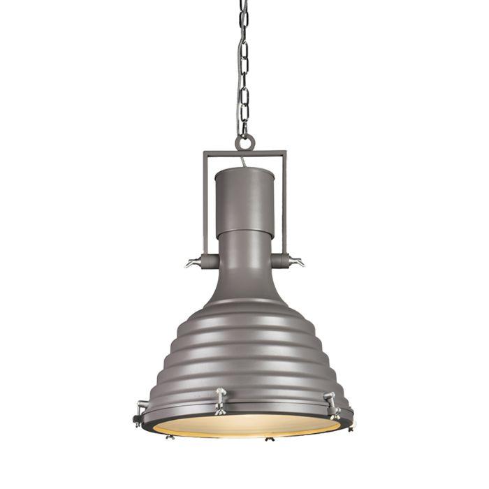 Lámpara-colgante-FORTE-gris