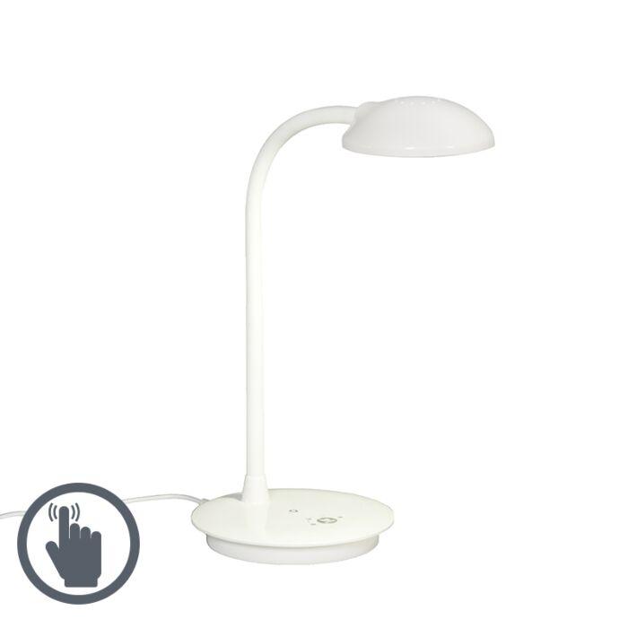 Lámpara-de-mesa-DESK-LED-blanca