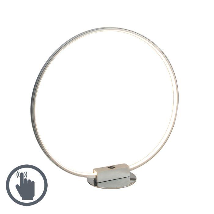 Lámpara-de-mesa-CIRCULUS-gris