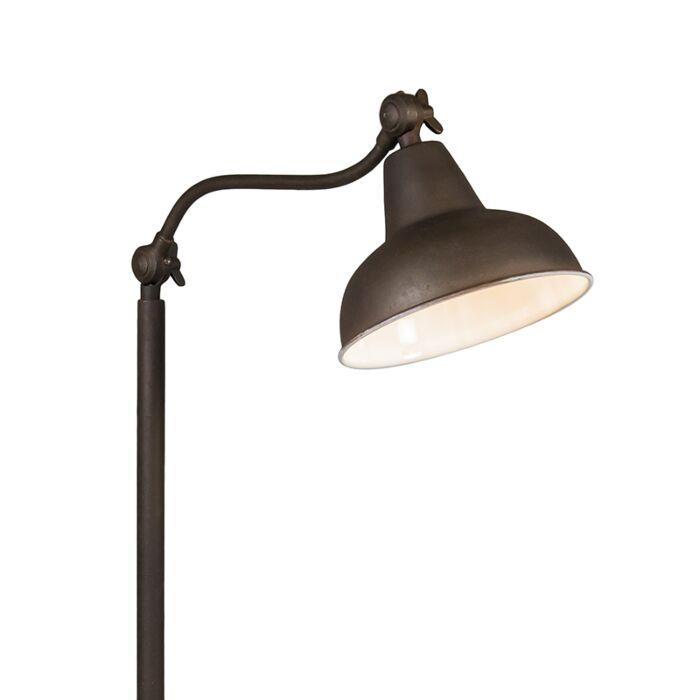 Lámpara-de-pie-GOA-color-óxido