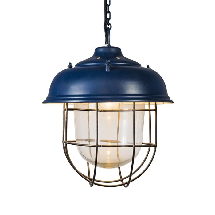 Lámpara-colgante-POSEIDON-azul