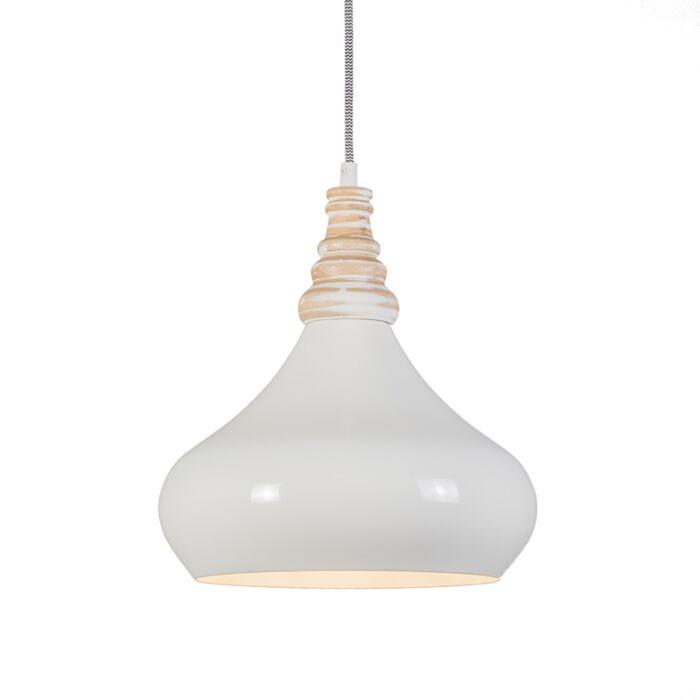 Lámpara-colgante-MAPLE-crema