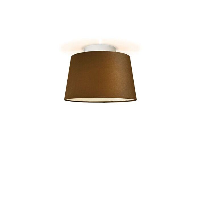 Plafón-TON-cónico-30-marrón