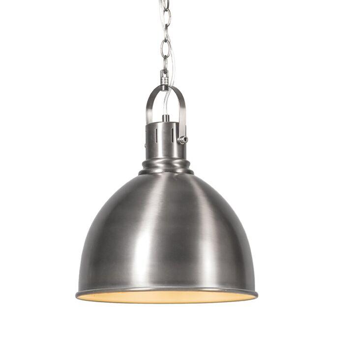 Lámpara-colgante-GOBLET-níquel