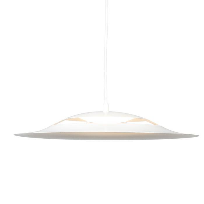 Lámpara-colgante-OPAL-blanca-LED