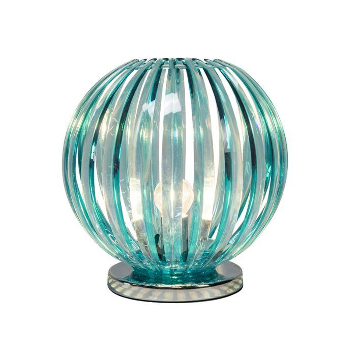 Lámpara-de-mesa-DISCO-azul