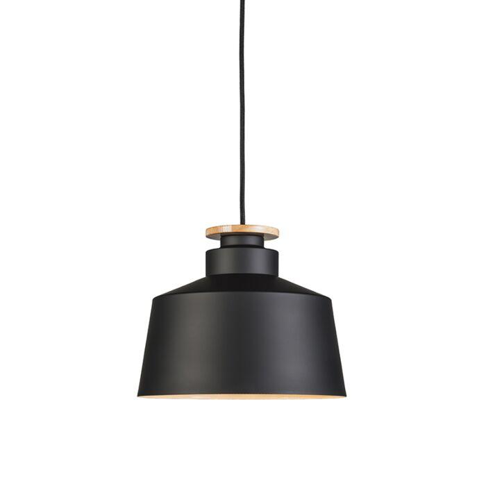 Lámpara-colgante-ORCHID-28-negra