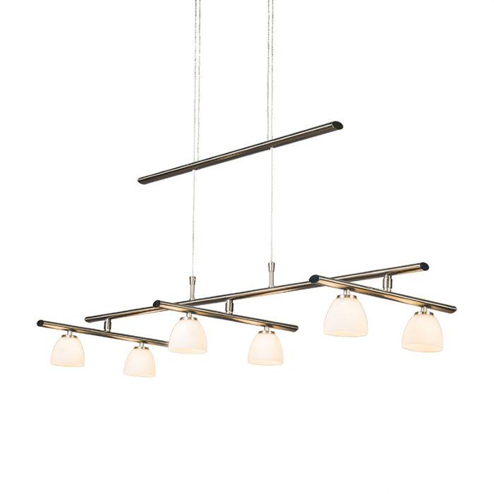 Lámpara-colgante-CUPS-6-acero