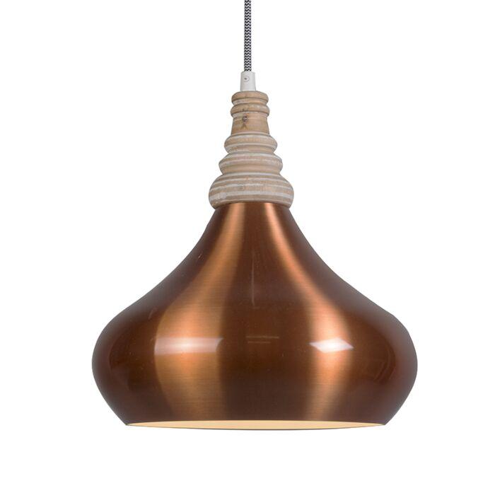 Lámpara-colgante-MAPLE-cobre