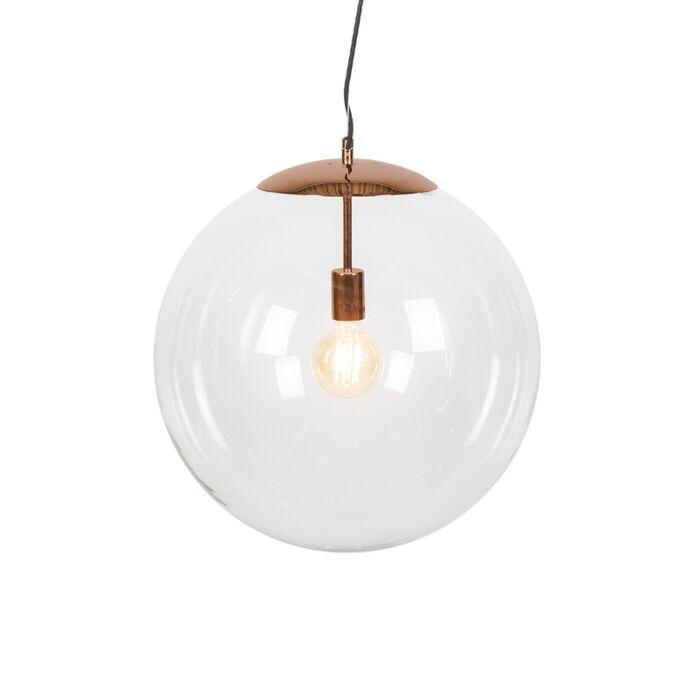 Lámpara-colgante-moderna-cobre-50-cm---Ball