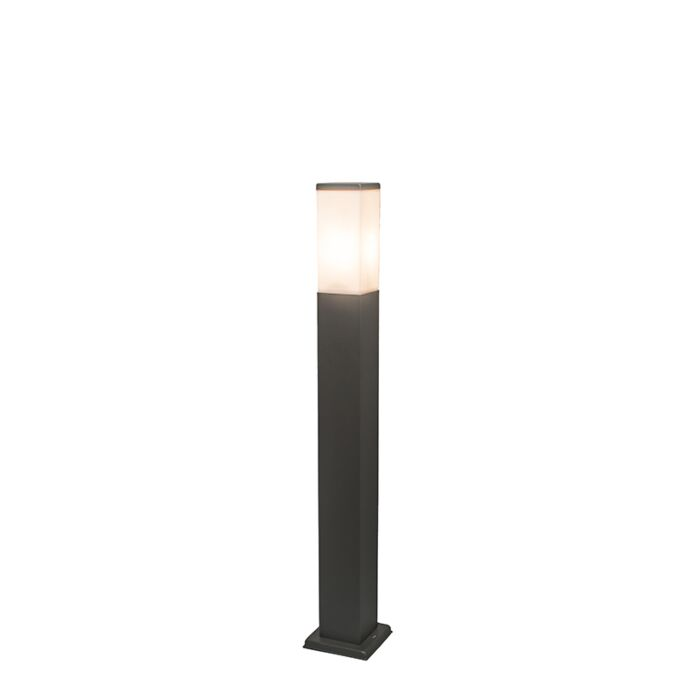 Baliza-moderna-gris-oscuro-80cm-IP44---MALIOS