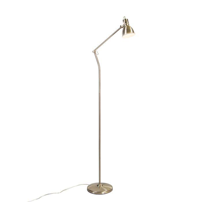 Lámpara-de-pie-GOBLET-níquel