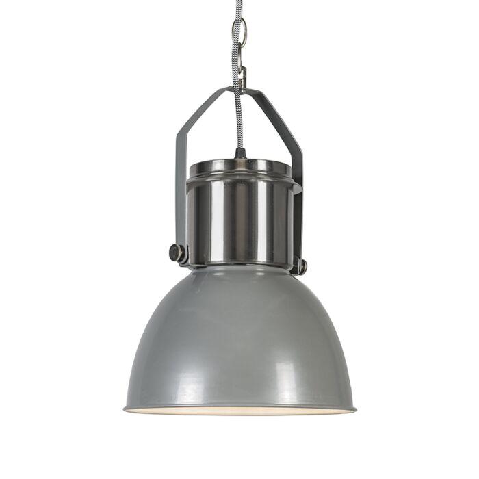 Lámpara-colgante-INDUSTRIAL-27-gris