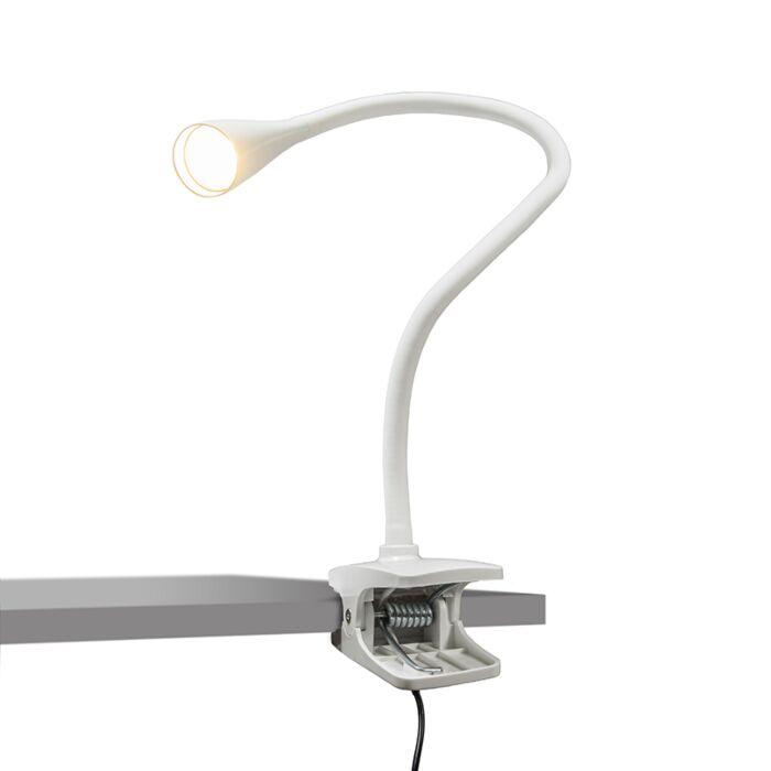 Lámpara-de-pinza-SWAN-blanca