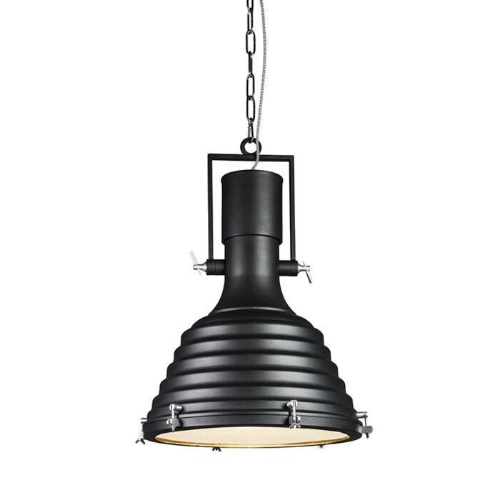 Lámpara-colgante-FORTE-negra