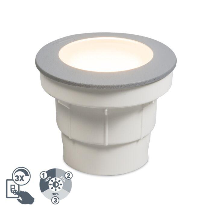 Focos-suelo-gris-LED-IP67---CECI