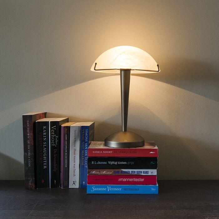 Lámpara-de-mesa-BOLETUM-táctil-bronce