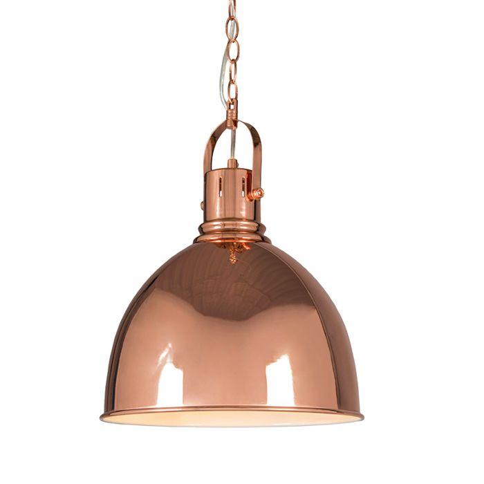 Lámpara-colgante-GOBLET-cobre