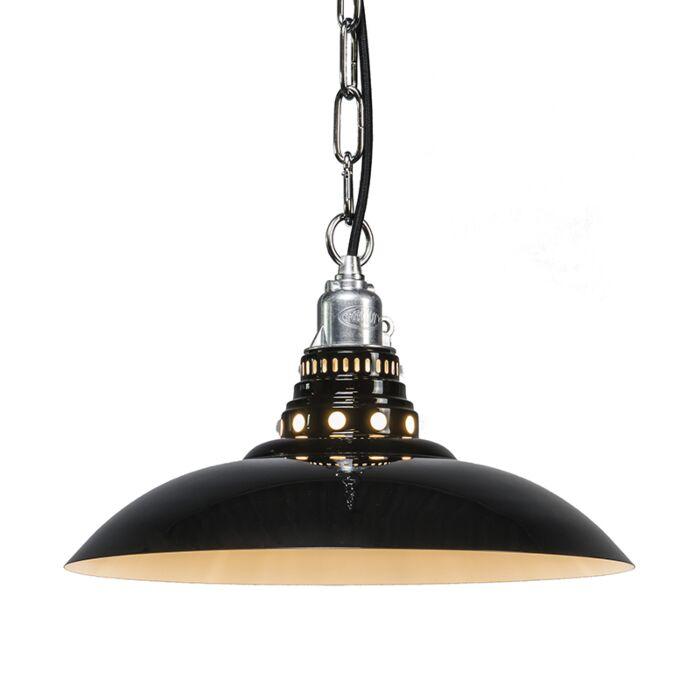Lámpara-colgante-STRATUM-negra