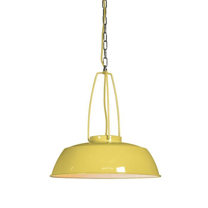 Lámpara-colgante-USINE-amarillo