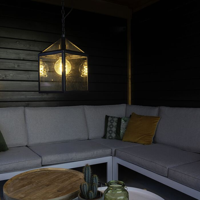 Lámpara-colgante-industrial-negra-IP23---AMSTERDAM