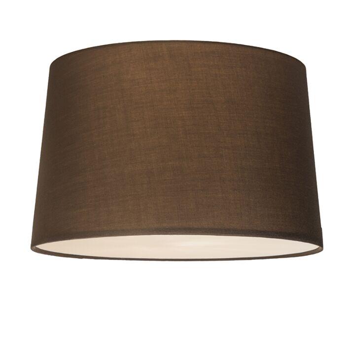 Plafón-COMBI-50cm-marrón-con-difusor