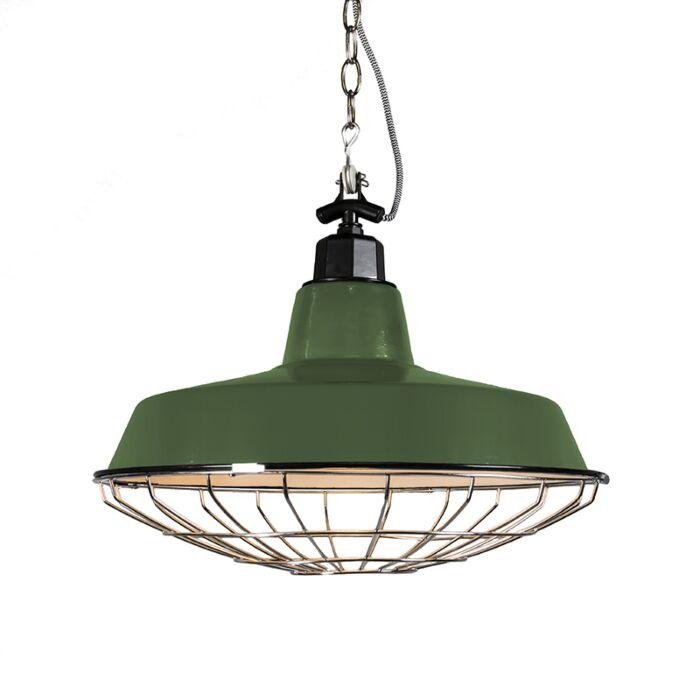 Lámpara-colgante-STRIJP-L-verde