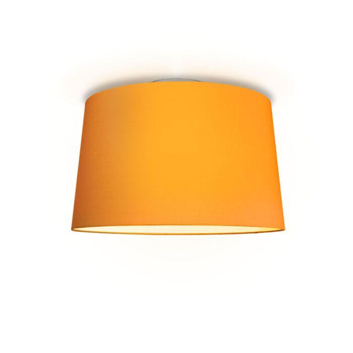 Plafón-TON-cónica-50-naranja