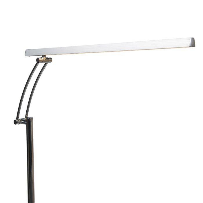 Lámpara-de-pie-BERDIEN-Delux-cromo