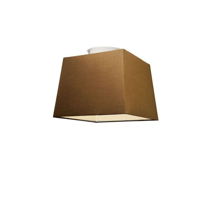 Plafón-TON-piramidal-30-marrón