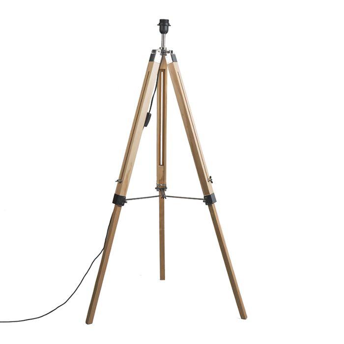 Trípode-rústico-madera-sin-pantalla---TRIPOD