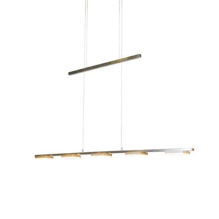 Lámpara-colgante-QUADRATIC-5-acero