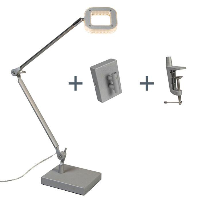 Lámpara-de-mesa-/-aplique-OFICINA-aluminio