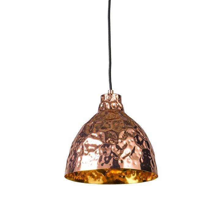 Lámpara-colgante-DENTS-25-cobre