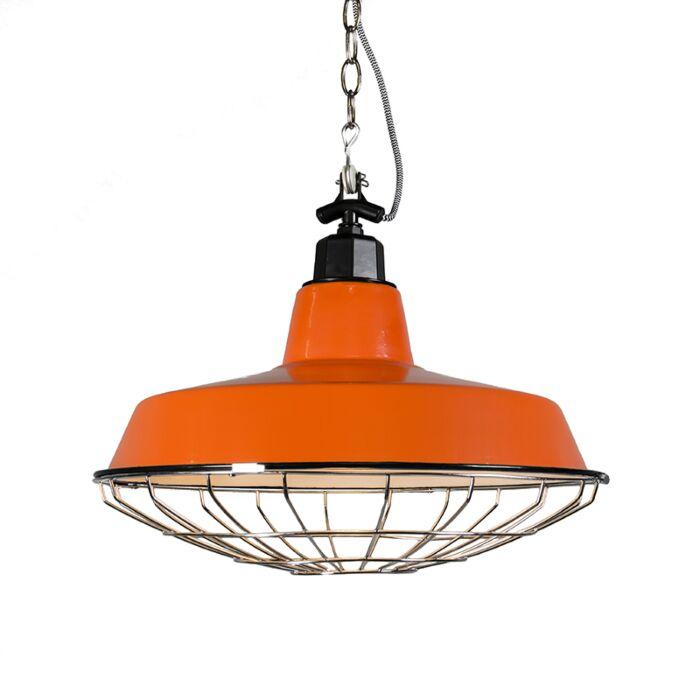 Lámpara-colgante-STRIJP-L-naranja