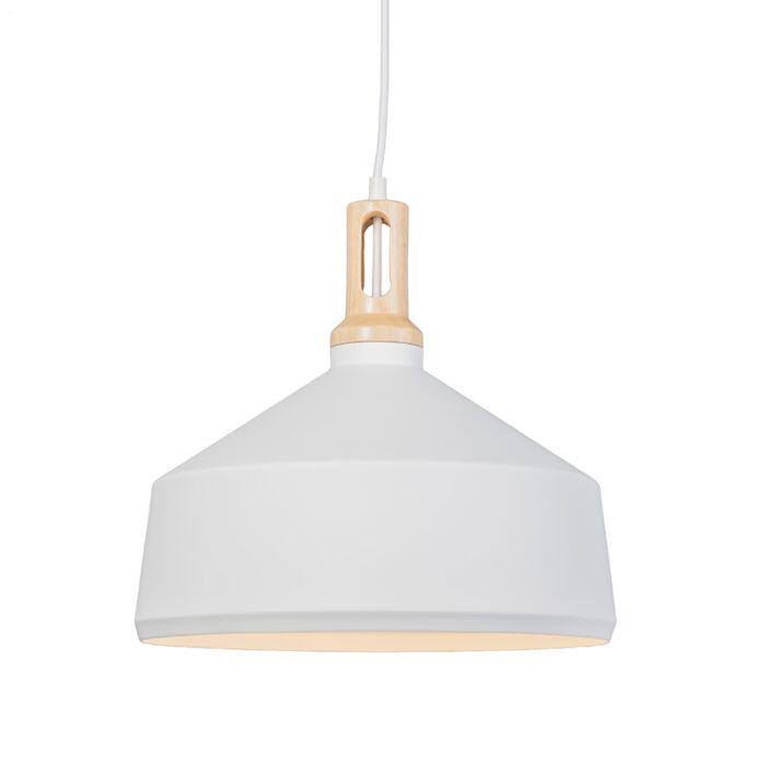 Lámpara-colgante-LOTUS-3-blanca