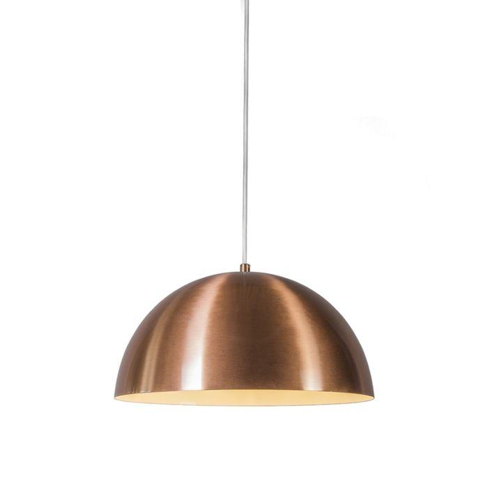 Lámpara-colgante-MAGNA-35-cobre-mate