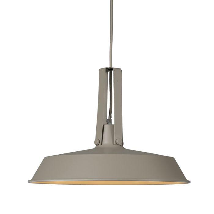 Lámpara-colgante-LIVING-40cm-gris-hormigón
